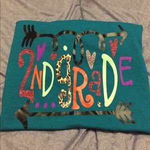 Gildan Ladies Size 3X NEW 2nd Grade Teacher Shirt